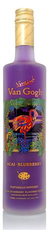 Vincent Van Gogh Vodka Acai Blueberry